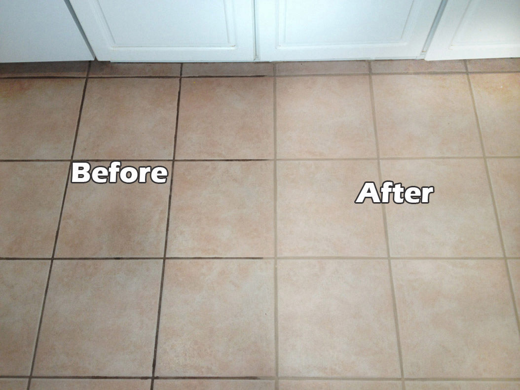 Tucson Sun Valley Floor Specialists Grout Stain Removal